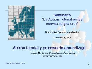 Acción tutorial y proceso de aprendizaje