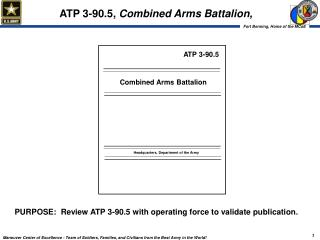 ATP 3-90.5,  Combined Arms Battalion,