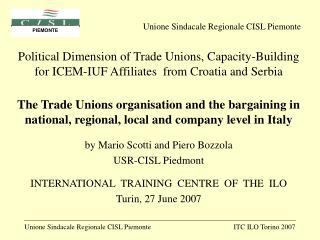 Unione Sindacale Regionale CISL Piemonte