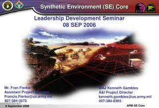 Leadership Development Seminar 08 SEP 2006