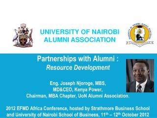 Background of UoN Alumni Association