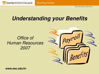 Understanding your Benefits
