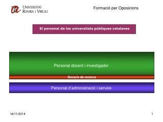 Personal docent i investigador