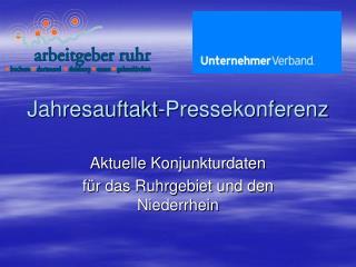 Jahresauftakt-Pressekonferenz