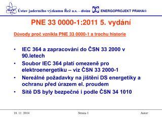 PNE 33 0000-1:2011 5. vydání