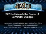272H   Unleash the Power of Reminder Dialogs