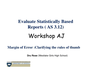 The Central Limit Theorem  and the Normal Distribution