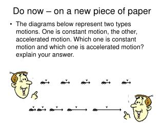Do now – on a new piece of paper