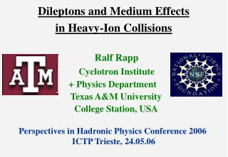 Dileptons and Medium Effects  in Heavy-Ion Collisions
