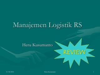 Manajemen Logistik RS