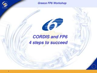CORDIS and FP6  4 steps to succeed