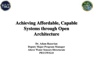 Achieving Affordable, Capable Systems through Open Architecture
