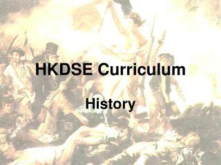 HKDSE Curriculum