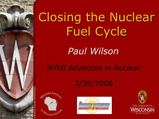 Closing the Nuclear Fuel Cycle