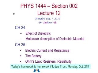 Lecture Set 7