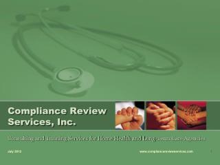 Compliance Review Services, Inc.