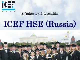 S. Yakovlev, J. Lockshin