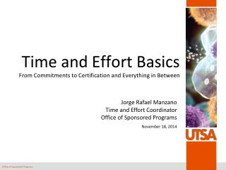 Time and Effort Basics From Commitments to Certification and Everything in Between