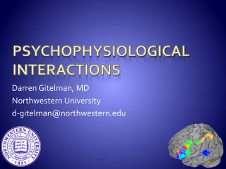 PsychophysiologicAl  Interactions