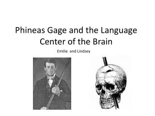 Phineas Gage and the Language Center of the Brain