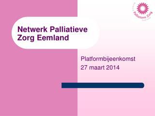 Netwerk Palliatieve  Zorg Eemland