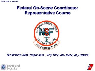 Federal On-Scene Coordinator Representative Course