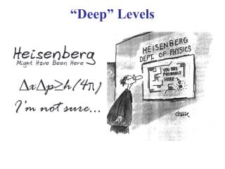 """""""Deep"""" Levels"""