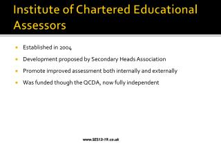 Institute of Chartered Educational Assessors