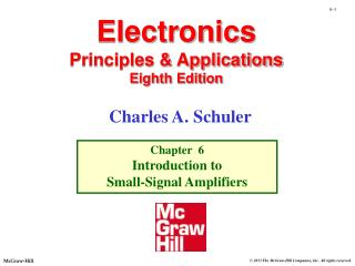 Electronics Principles & Applications Eighth Edition