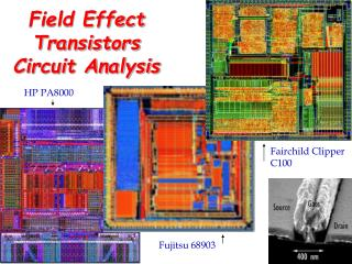 Field Effect Transistors Circuit Analysis