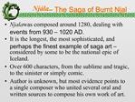 Nj la   The Saga of Burnt Njal
