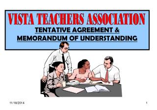 TENTATIVE AGREEMENT & MEMORANDUM OF UNDERSTANDING