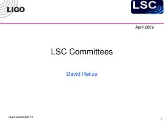 LSC Committees