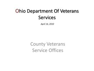 O hio Department Of Veterans Services