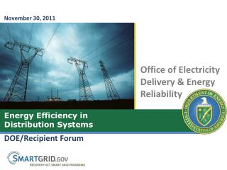 DOE/Recipient Forum