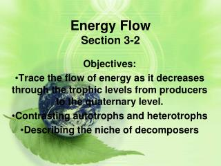 Energy Flow Section 3-2