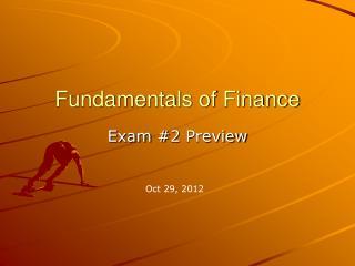 Fundamentals of Finance