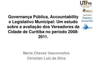 Marta Chaves Vasconcelos Christian Luiz da Silva