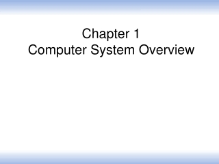 Computer System Overview