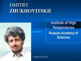 DMITRY ZHUKHOVITSKII