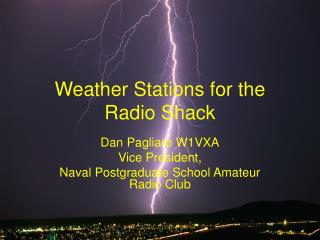Weather Stations for the Radio Shack