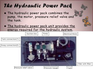 The Hydraulic Power Pack
