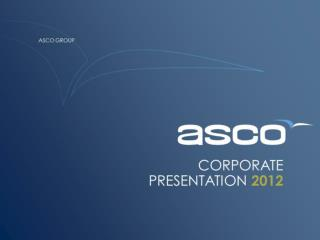 Asco Application Landscape