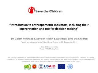 By  Dr. Golam Mothabbir, Advisor-Health & Nutrition, Save the Children