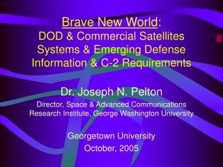 Dr. Joseph N. Pelton