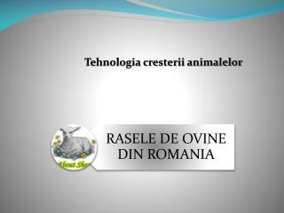Tehnologia cresterii animalelor
