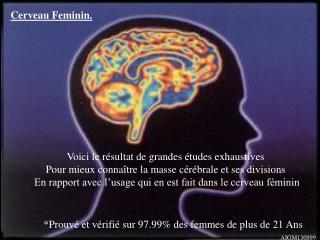 Cerveau Feminin.