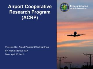 Airport Cooperative Research Program (ACRP)