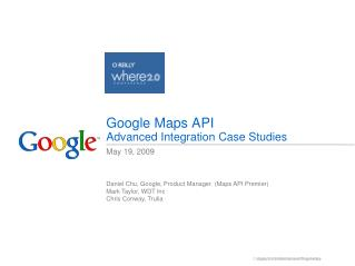 Google Maps API Advanced Integration Case Studies