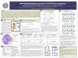 Multi-Model Estimates of Arctic Land Surface Conditions